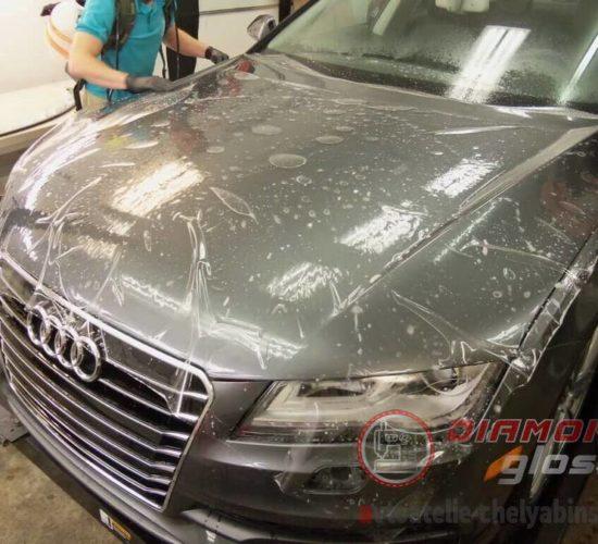Бронирование капота Audi