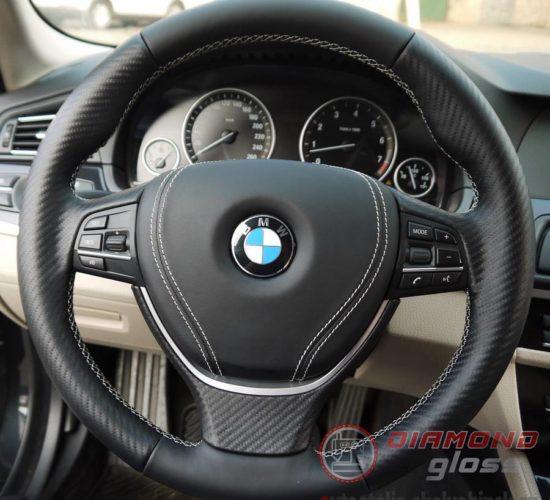 Пошив руля и AirBag BMW